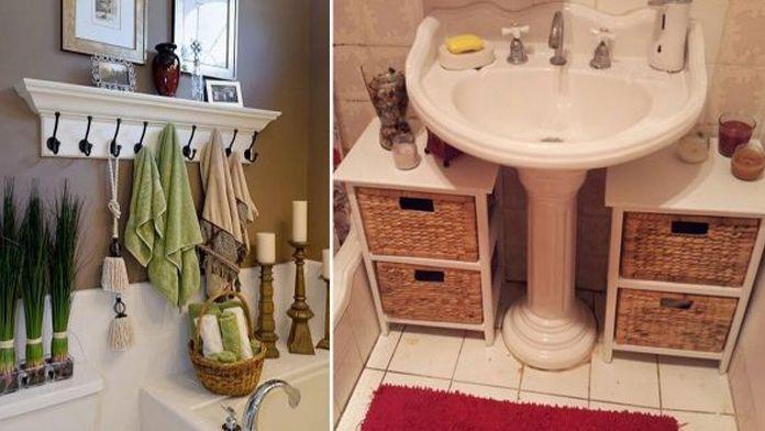 Kreativní nápady na využití prostoru ve Vaší koupelně! Překrásné dekorace pro každého! | Vychytávkov