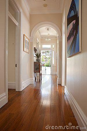 Interior Hallway Entrance Doorway Royalty Free Stock Images - Image: 21663749
