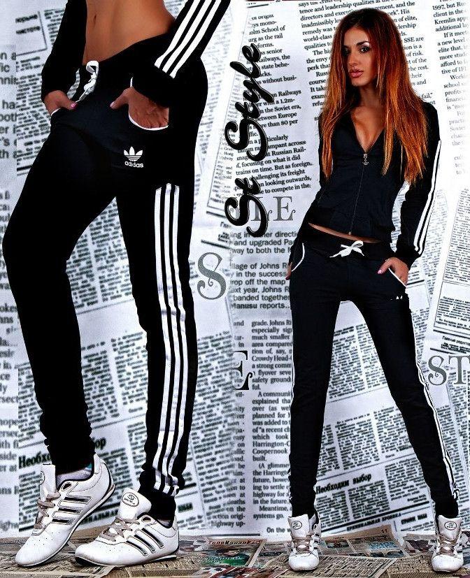 3513676357 tuta nera adidas donna