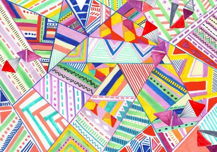aztec pattern tumblr themes - photo #23