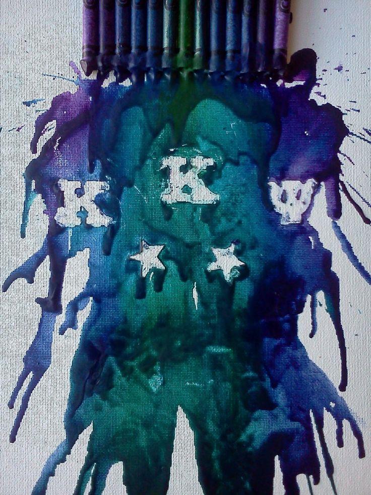 KKPsi crayon melt by KodyReborn