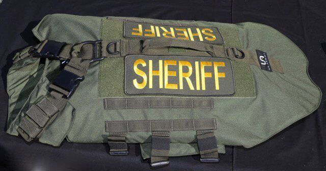 U.S. Armor | Twitter - The San Diego Sheriff's Department recently received a donation of 30 U.S. Armor K9 vests from the Honorary Deputy Sheriff's Association.