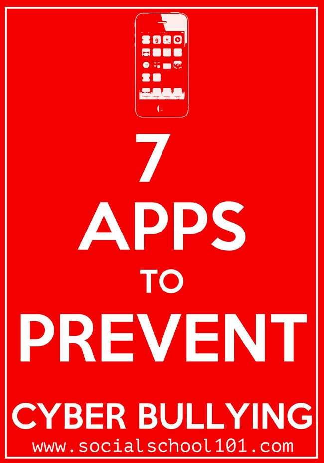 Get the 7 apps to monitor cyber-bullying. This site also has other great internet security advice. Social school