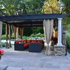 Contempory Design meet Natural Beauty - traditional - patio - new york - Harmony Design Group