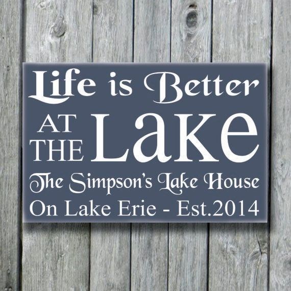 Personalized Beach House Plaques: 1000+ Ideas About Cottage Signs On Pinterest