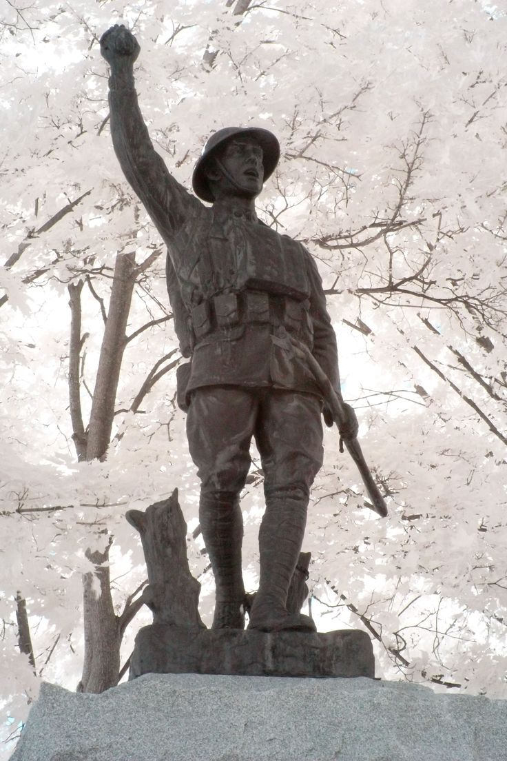 WWI Statue for St. Albans Vets
