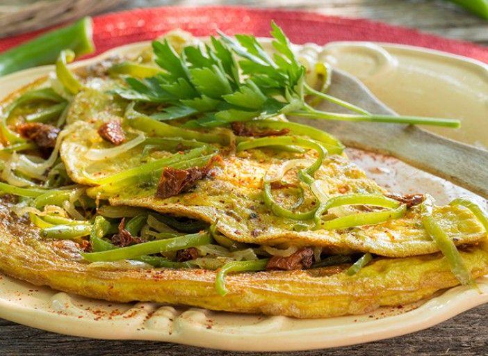 Recette d'omelette du Pays Basque V. Klecka - Rustica