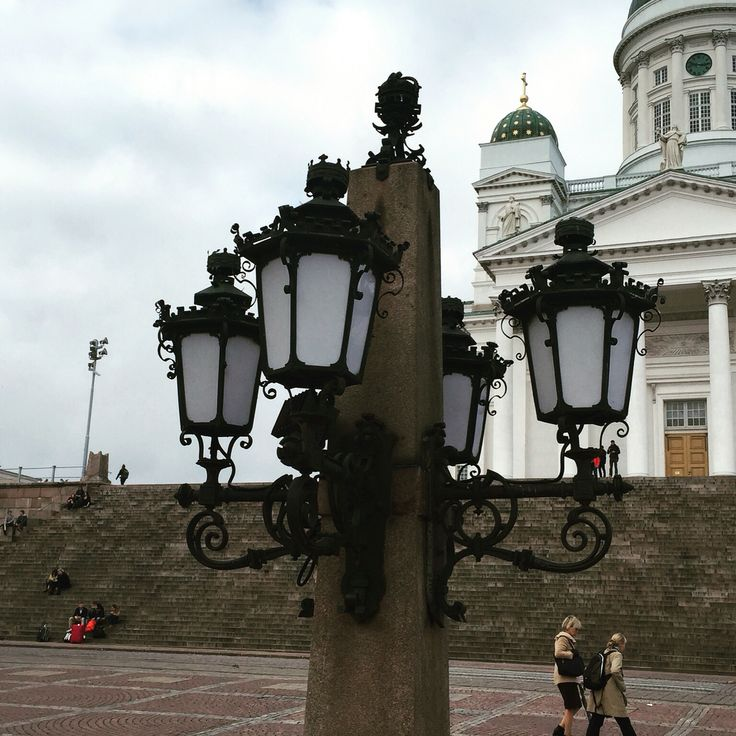 The Cathedral Square in Helsinki