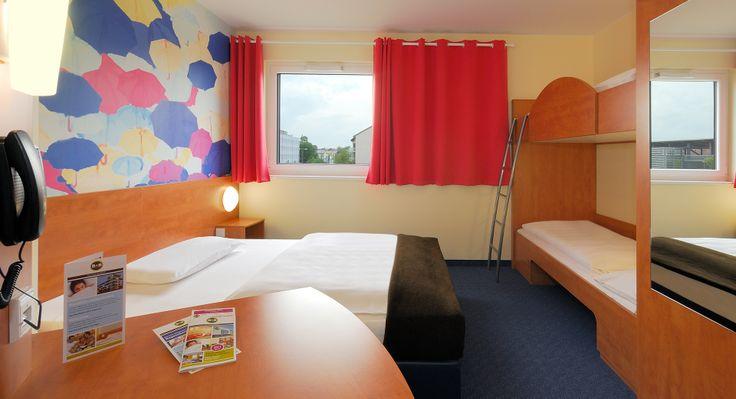 Familienzimmer für 4 Personen im B&B Hotel Regensburg