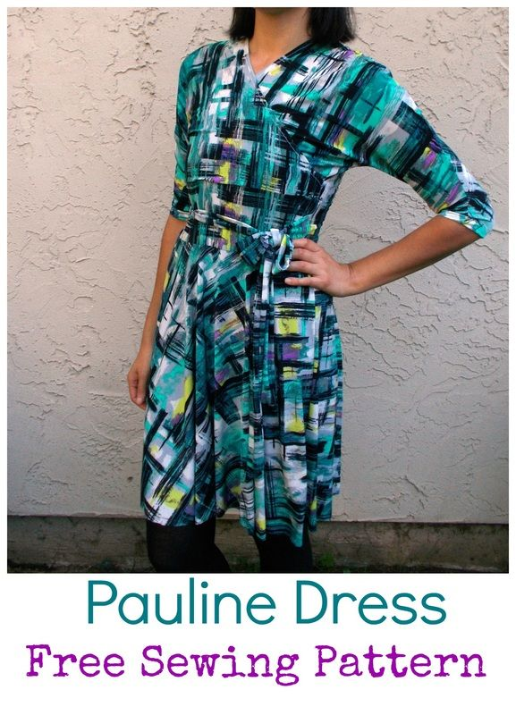 New Free Dress Pattern: The Pauline Dress now available!  #sewing #isew