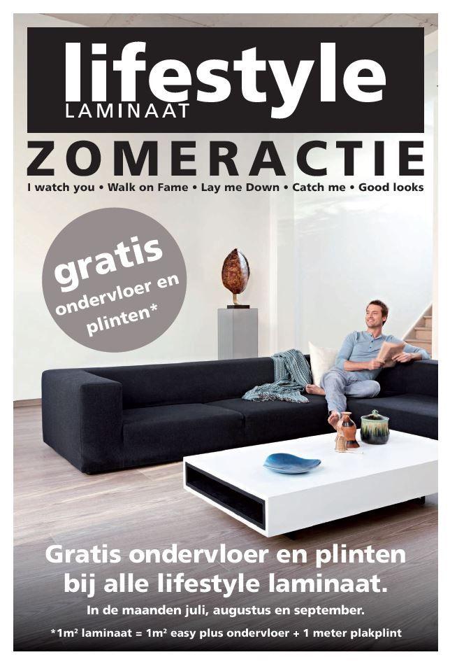 Gratis plinten en ondervloer, vraag er naar bij onze dealers. Kijk op www.lifestyle-interior.nl