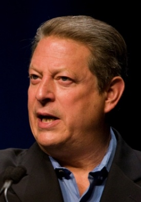 Al Gore  Al Gore is well-known to be one of the most important people in history for being a politician, an environmental activist, a documentary show host, a Nobel Peace Prize winner and more. Throughout his entire career, Al Gore has supported numerous organizations, participated in various organizational programs, and actively promoted the protection of our planet.