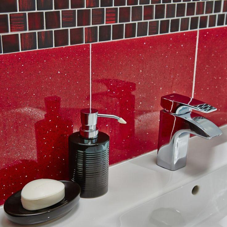 Quartz Bathroom Tiles: 13 Best Images About Red Bathroom Ideas On Pinterest