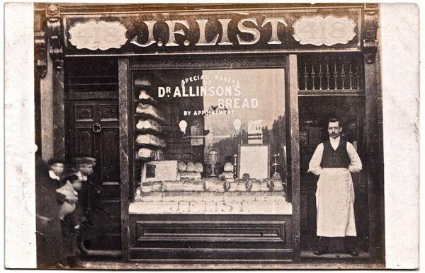 J.F. List, Baker, 418 Bethnal Green Rd