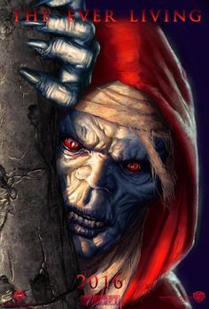 """This digital Mumm-Ra painting is one of Johnny Morrow's two custom """"ThunderCats"""" film posters."""