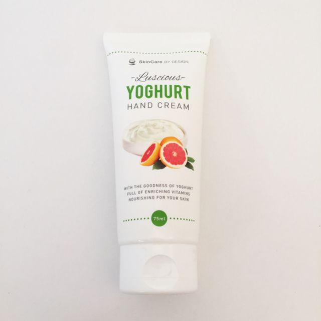Luscious Yoghurt Hand Cream. Australian Made.