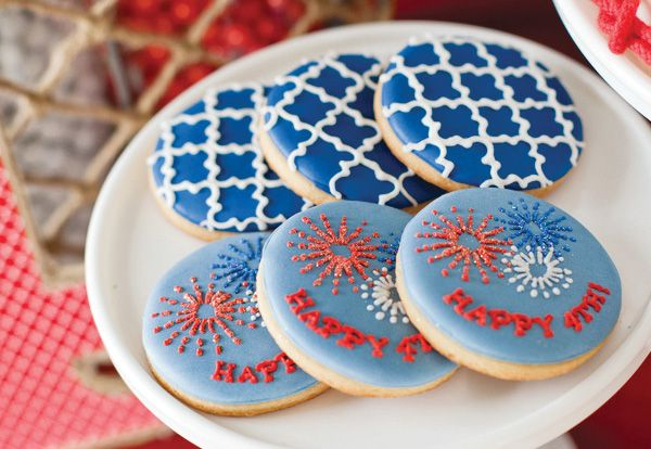 Love These 4th Of July Cookies!