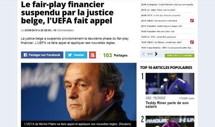 Il calcio come Matrix: tutta colpa del Financial Fair Play
