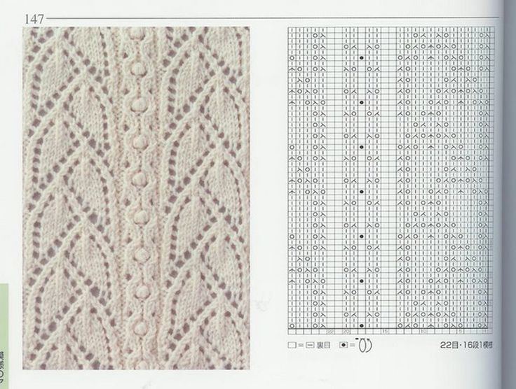Knitted Lace Pattern : 669 best Knitting: Flowers, Leaves, Vines, Etc. images on Pinterest Knittin...
