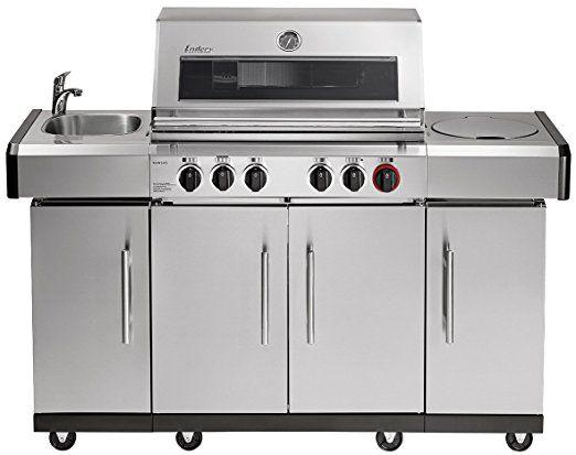Abdeckhaube Für Gasgrill Jamie Oliver : Broil master gasgrill bbq grillwagen edelstahl brenner