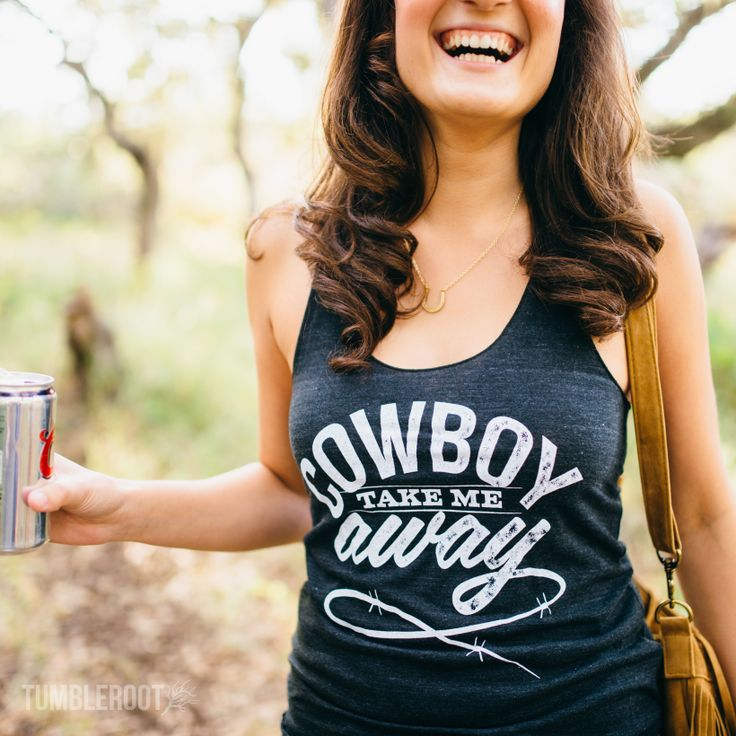 Just like you catch more bees with honey, we think you catch more cowboys with beer! The cutest country girl tank top to complete all your country outfits! Perfect summer country concert tank top!