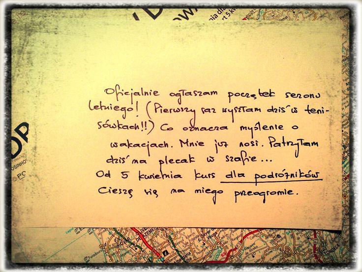 pisać o podróżach