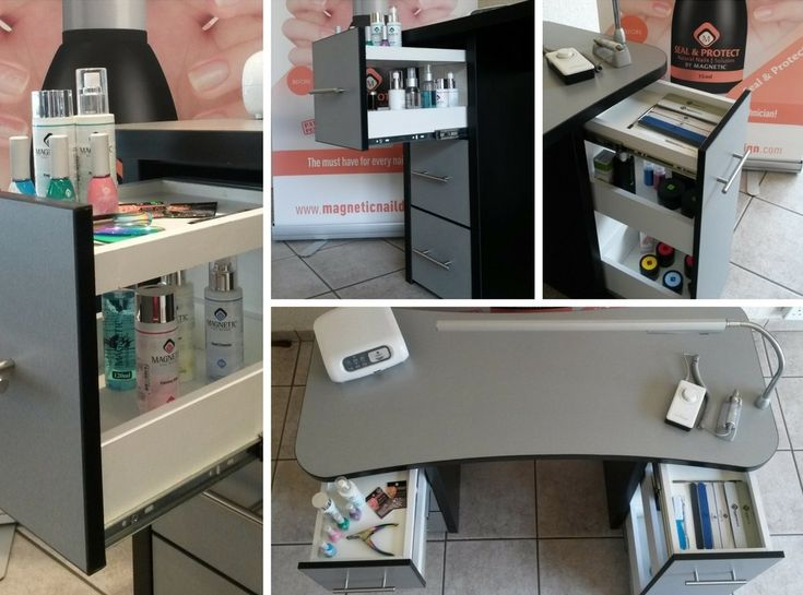 Nail Desks and manicure desks that have been created by Nail tech's and tried and tested at our Nail School