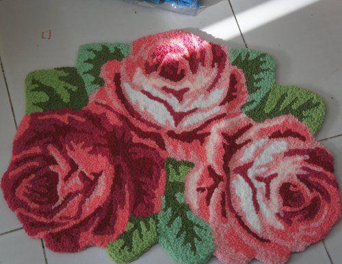 DIAIDI 3 Rose Carpet Floor Mat Handmade Rug Anti-Slip Modern Carpet Kitchen Area Rugs,Rose Shaped Rugs DIAIDI,http://www.amazon.com/dp/B00E54EKDU/ref=cm_sw_r_pi_dp_j0Jltb0FE9D3DK29