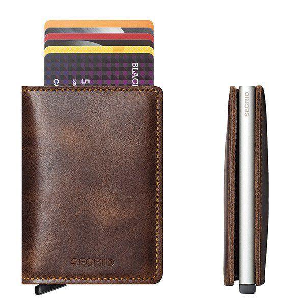 Wallet - SECRID Slimwallet Vintage Brown