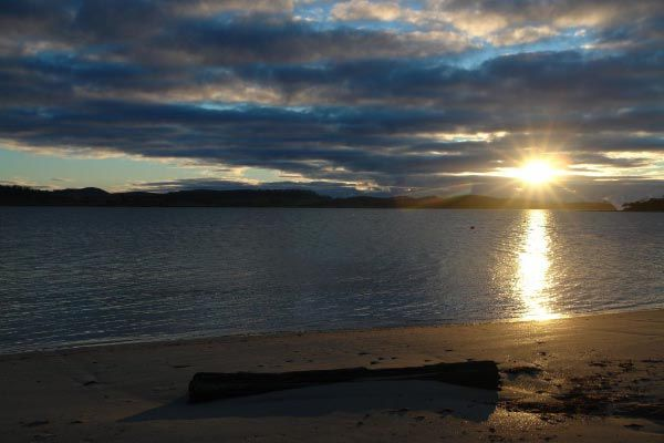East Beach, Orford ~ East Coast of Tasmania. Photo by Dan Fellow and article for think-tasmania.com