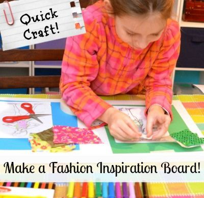 Indoor activity for budding fashion designers [[blog]]