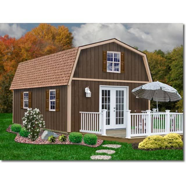 20 best images about old hickory buildings on pinterest for Garden shed kits menards