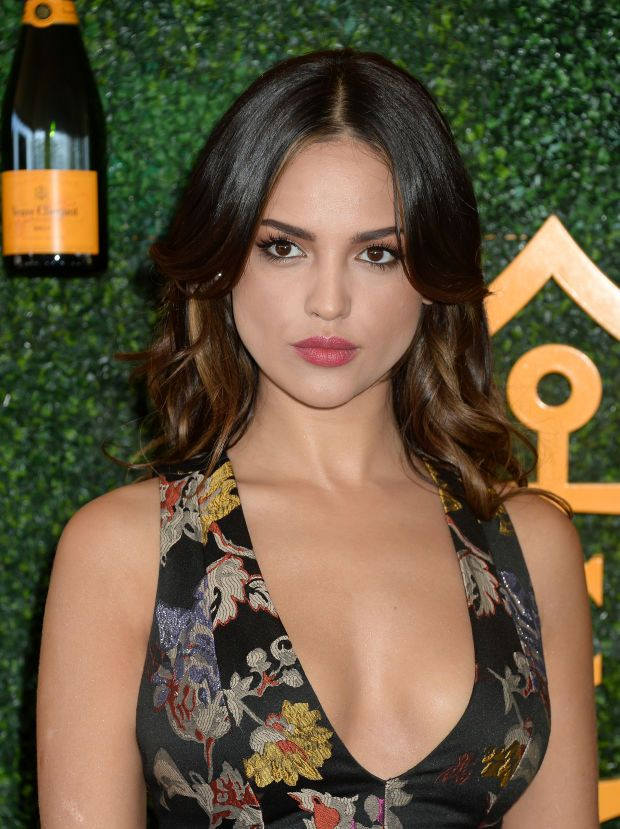 Eiza González at the 2016 Veuve Clicquot Polo Classic.