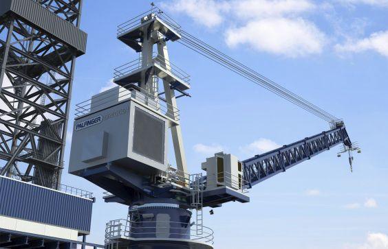 Ship crane / deck / luffing jib DKW SERIES Palfinger Marine GmbH