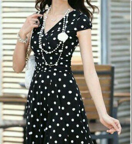 46abdb2c6c2f Polka Dot Cotton Dress - Buy Polka Dot Cotton Dress Online India at Best  Prices - Kraftly.com