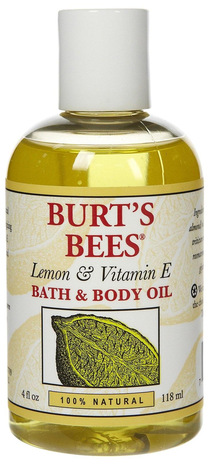 Burt's Bees Bath & Body Oil with Lemon & Vitamin E