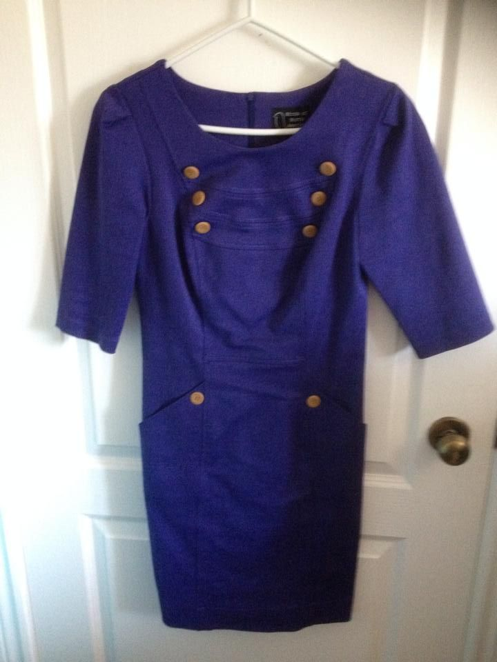 Brand is Birds of north america. Super high quality dress, the fabric is nice and thick and this is made in canada. Size 6.  Original retail price was 160$ if i remember correctly. 50$ + shipping