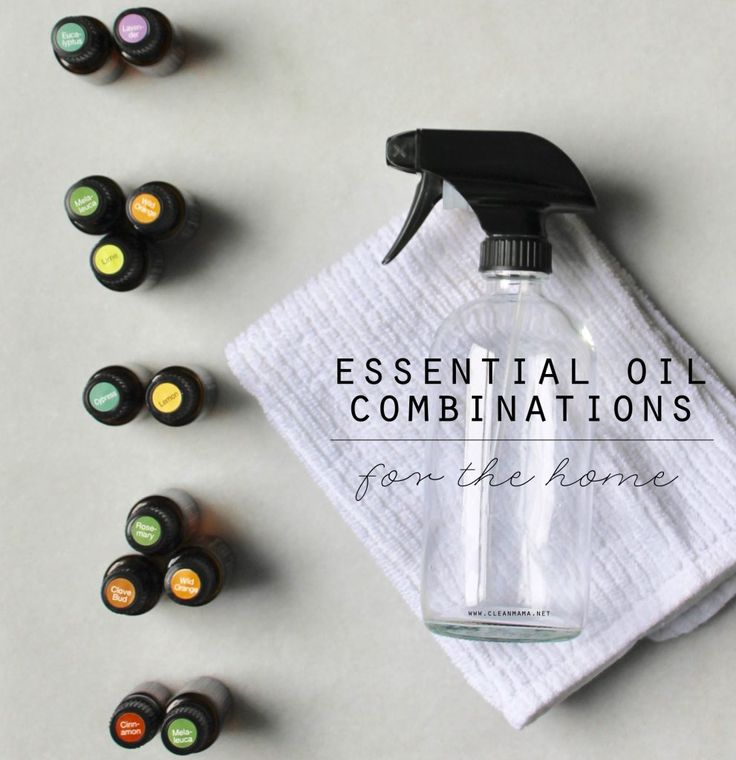 Essential Oil Combinations for Your Home