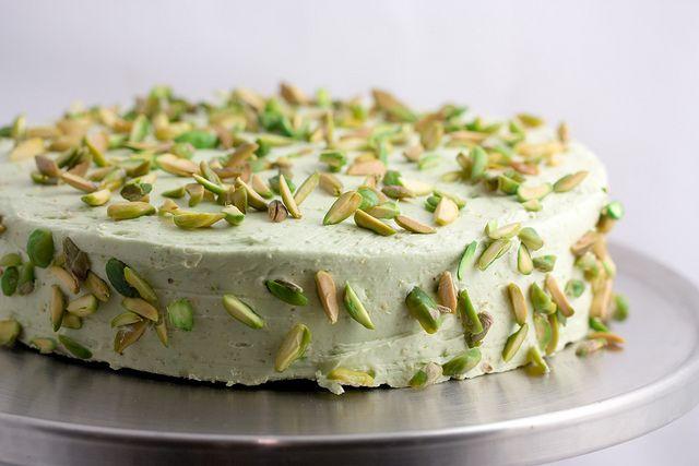Sicilian Pistachio Cake - I love pistachios! This cake is calling my name.