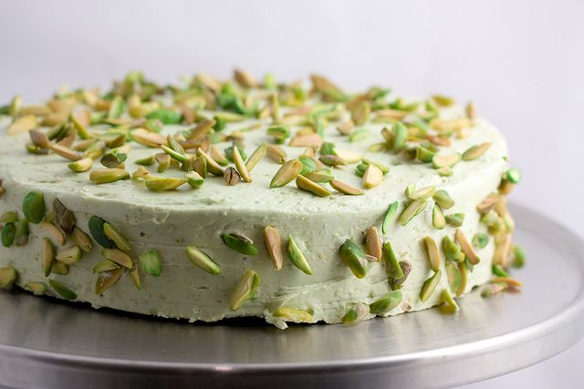 Sicilian Pistachio Cake - I love pistachios! This cake is calling my name.
