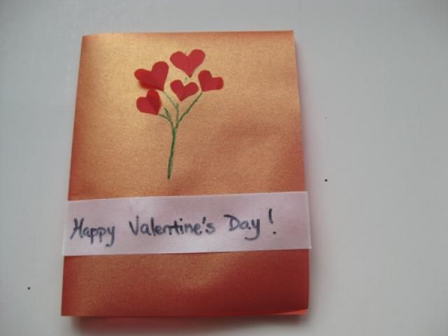 7 Pretty and Easy Homemade Valentine Cards: Vellum Paper Valentine Cards