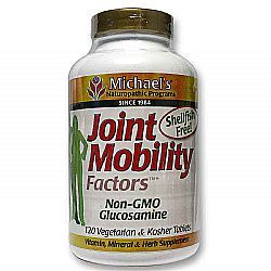 Featuring non-GMO glucosamine, this supplement helps combat painful inflammation and stiffness in the joints.