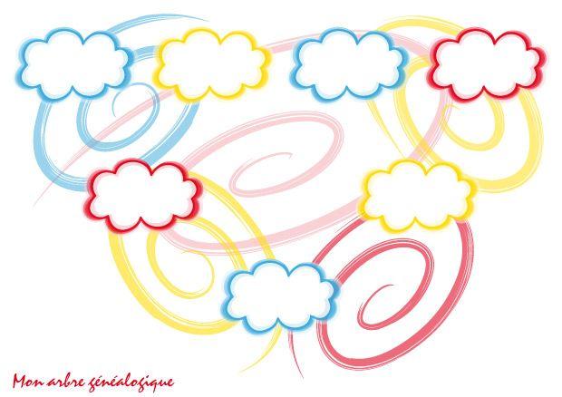 17 best images about arbre g n alogique on pinterest family tree chart activities and for kids - Imprimer arbre genealogique ...