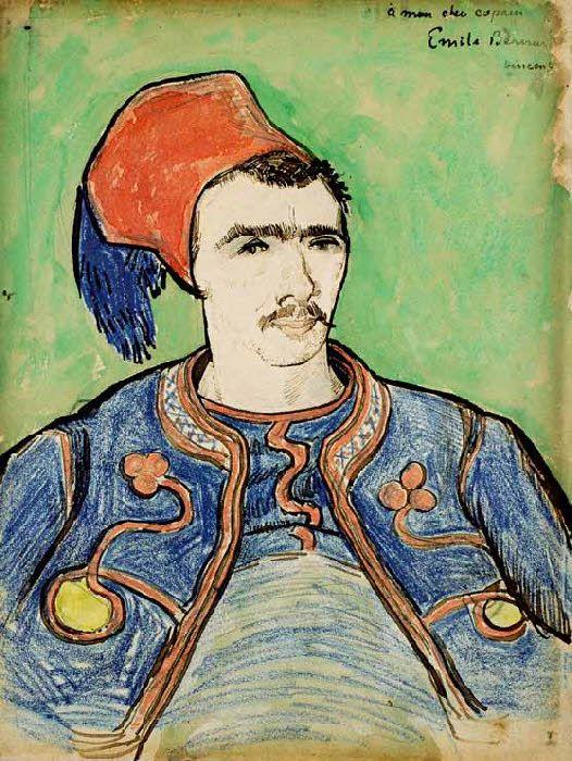 Vincent Van Gogh - Post Impressionism - Arles - le Zouave - 1888
