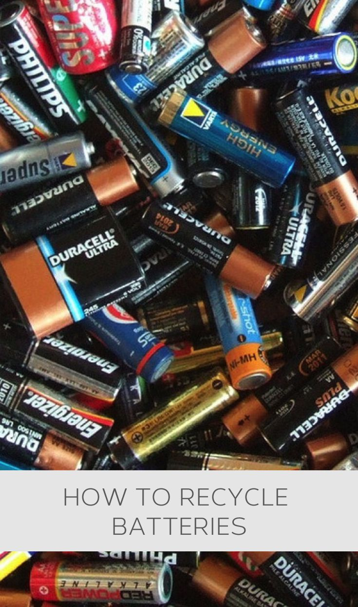 How to recycle batteries #howto, #helpful, #useful, #tips, #advice