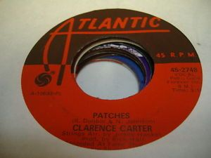 Soul 45 Clarence Carter Patches on Atlantic   eBay
