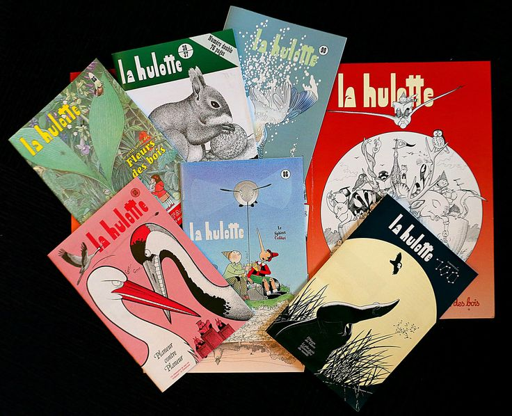 La Hulotte by Eleanor Beardsley, npr: Pierre Deom has been writing and illustrating La Hulotte since 1972. He released his 100th issue (lower right) in November. #Journal #Nature