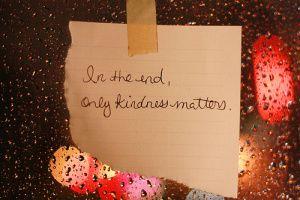 Kindness Matters [Buddhist Blog]