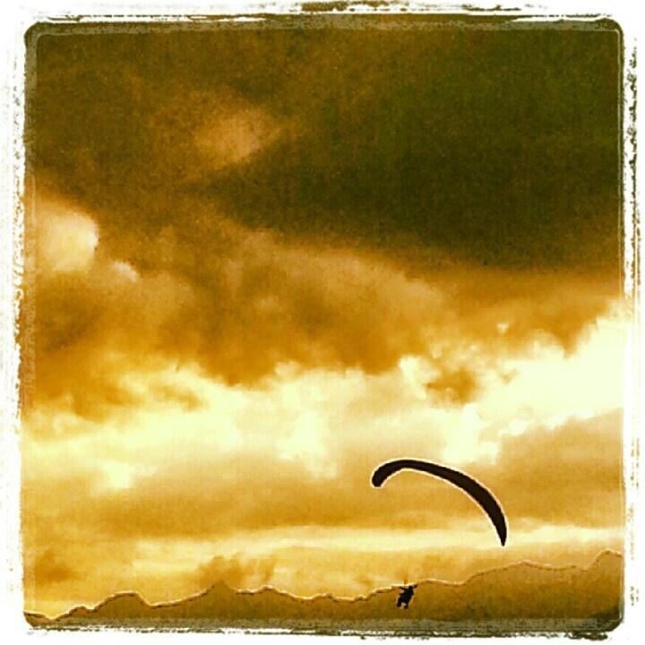 Paragliding at Interaken