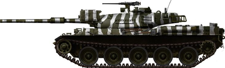 Type 74 E Zebra Pattern